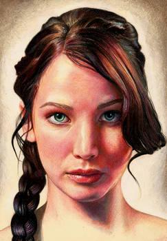 Jennifer Lawrence as Katniss Everdeen (updated)