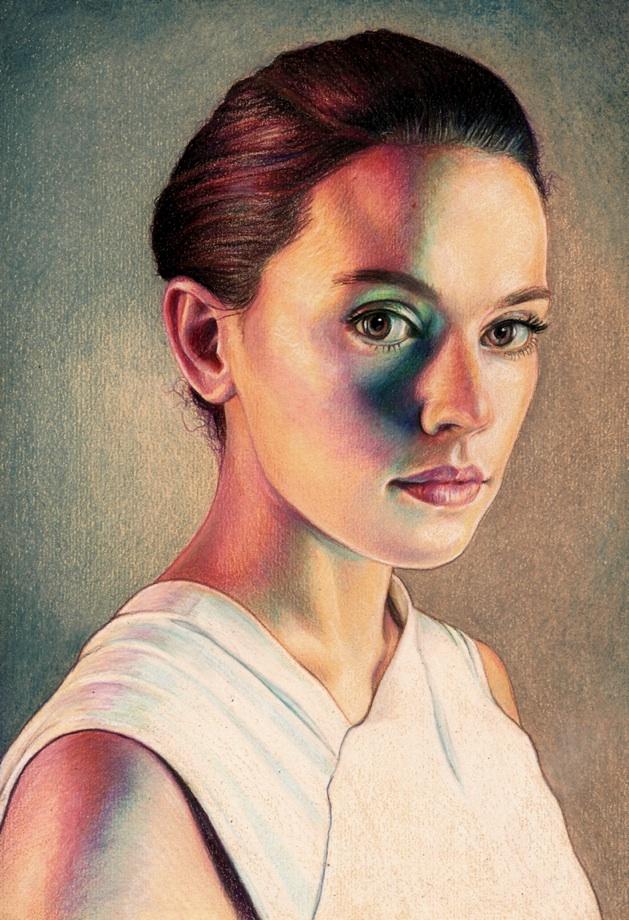 Daisy Ridley - Rey by Pevansy