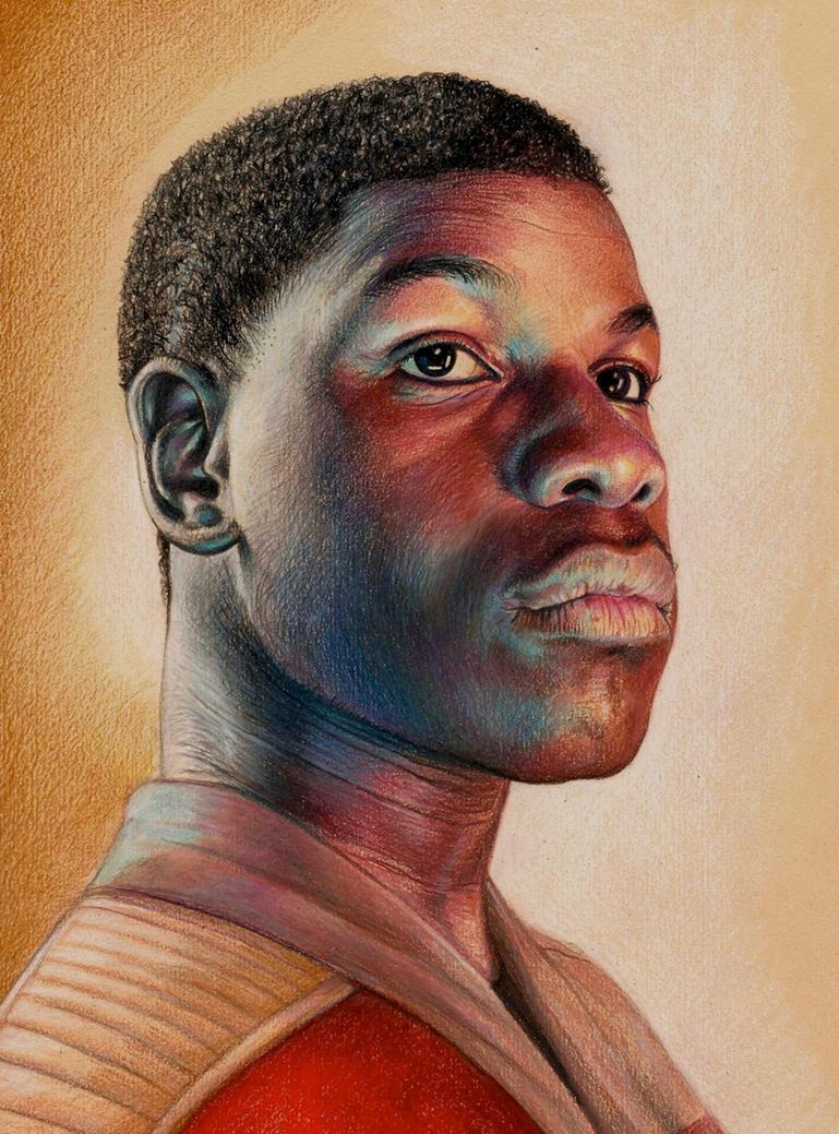 Finn - John  Boyega by Pevansy