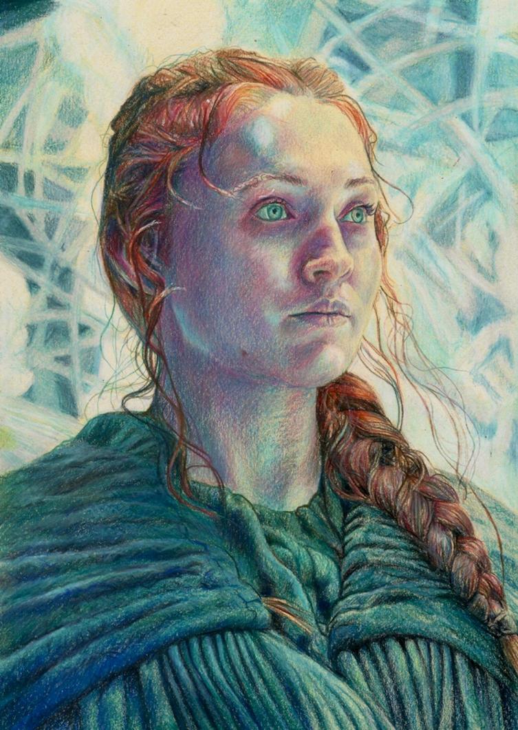 Sansa Stark by Pevansy