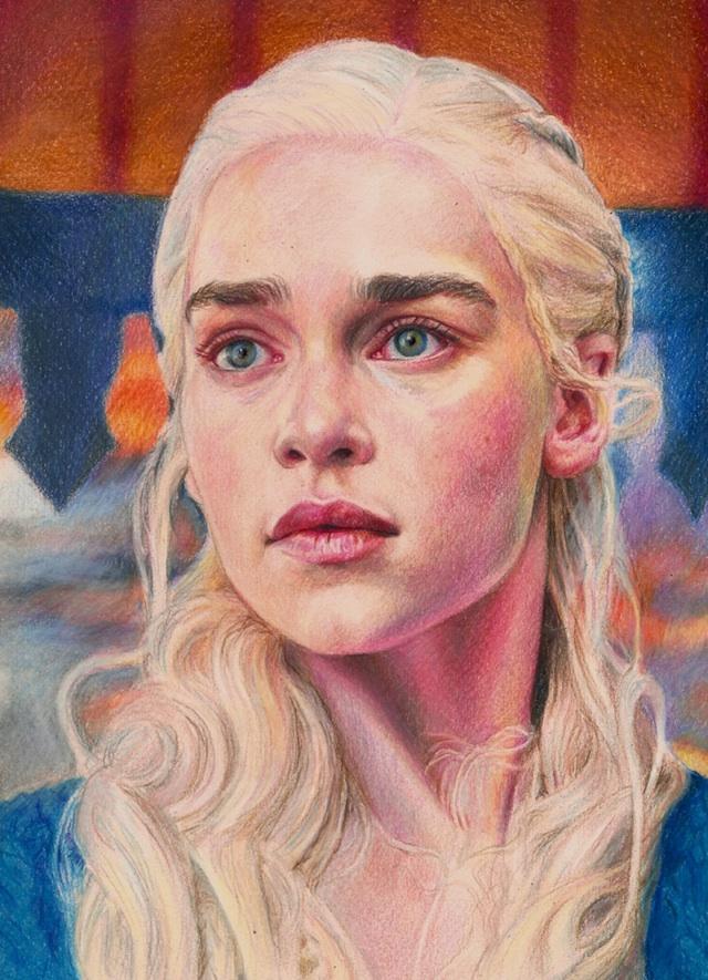 Daenerys Targaryen by Pevansy