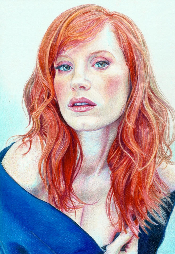 Jessica Chastain by Pevansy