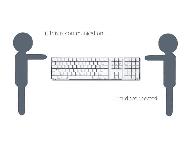 Communication? by devillious