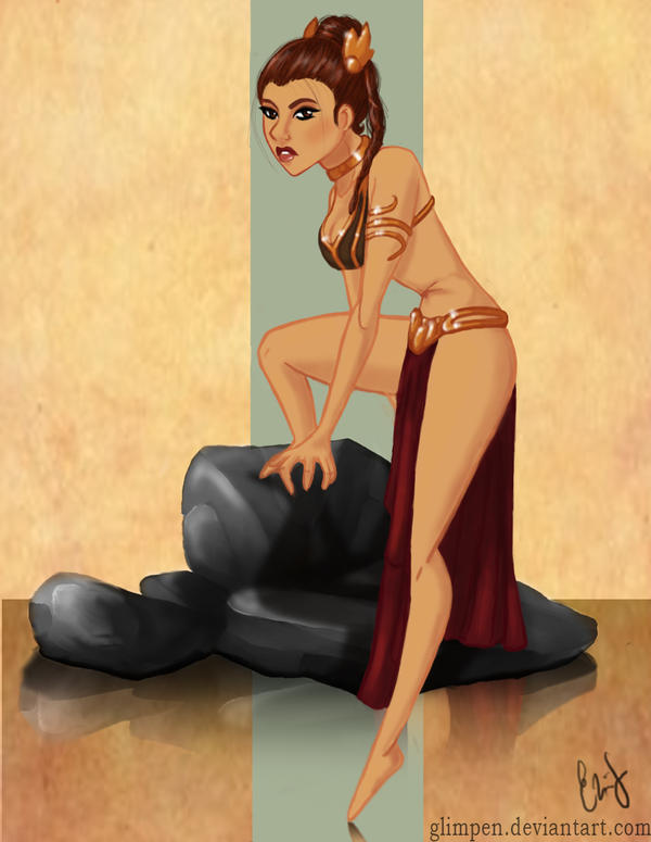 Princess Leia by glimpen