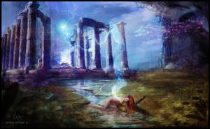 The Birth of Gaia by glimpen