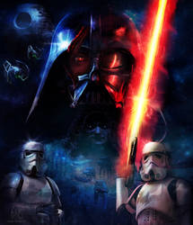 The Power of The Dark Side by glimpen