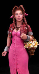 Aeris, the flower girl (1) by NavigatorCat
