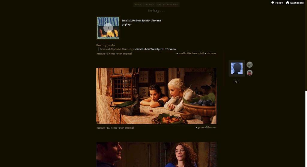 Tumblr Themes By Fireworkprodz On Deviantart