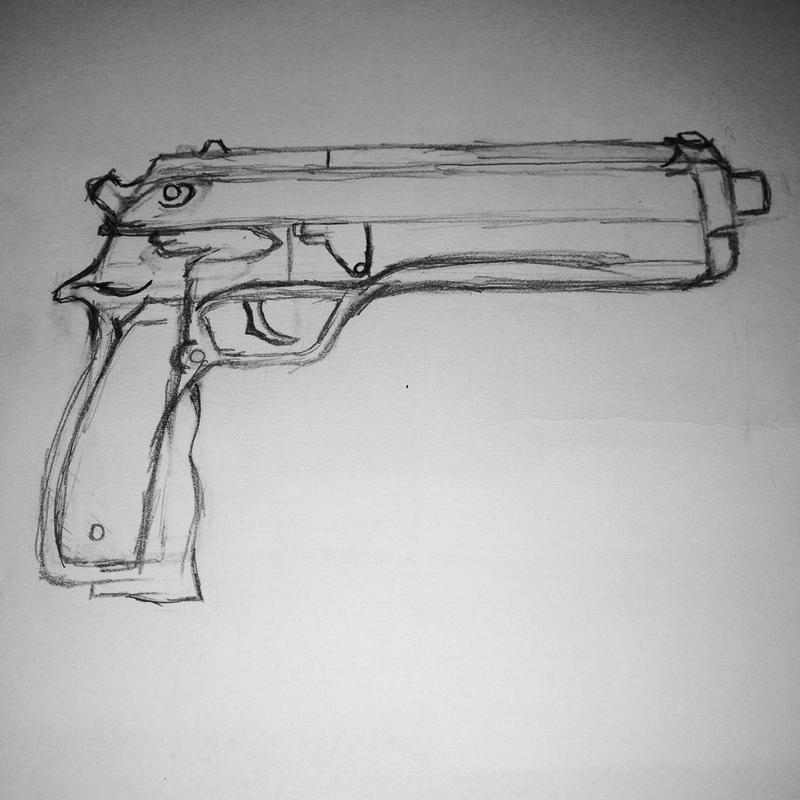 Randomness #003: Beretta 92 by FireworkProdz