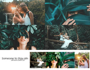 Someone to Stay || Deep Greens Photoshop Action