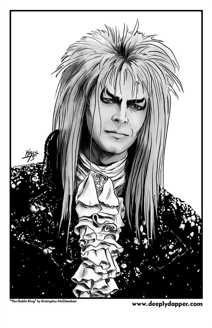 Jareth The Goblin King Portrait By Deeplydapper On Deviantart