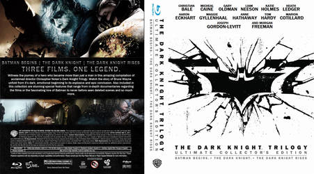 Dark Knight Trilogy Ultimate Collector's Edition by dirtbikeredden