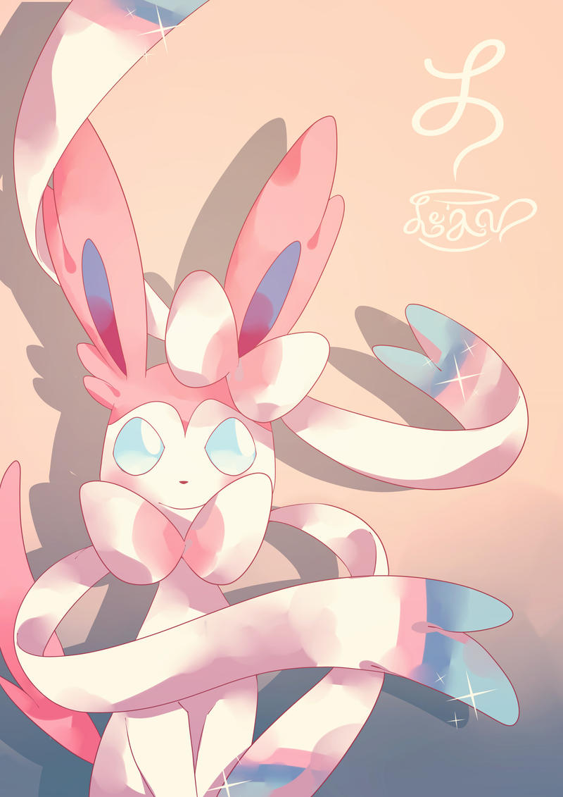 sylveon by Le-av