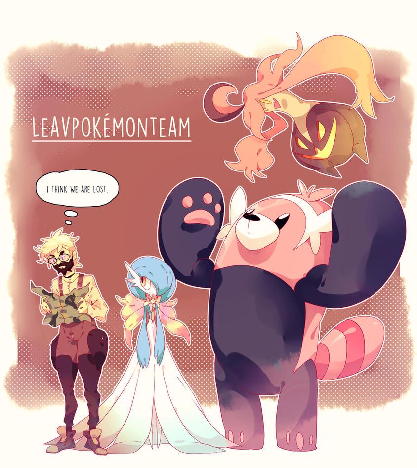 Pokemon Team Sun And Moon by Le-av