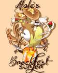Alolas breakfast surfer