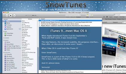 SnowTunes: iTunes 9 meets OS X