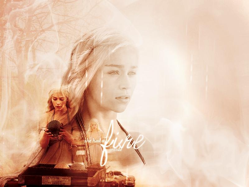 Daenerys Targaryen Art Wallpaper