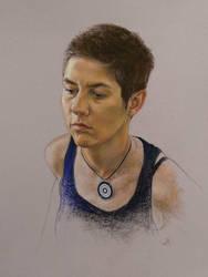 Pastel portrait #2