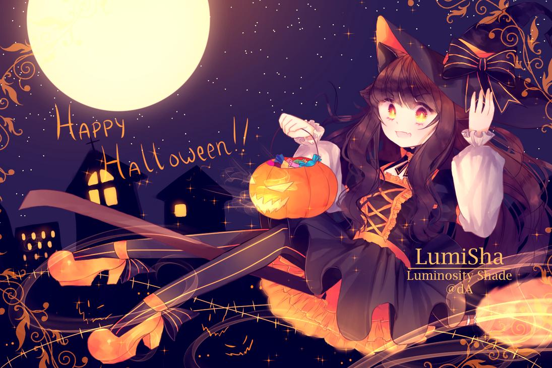 Happy Halloween 2017!! by Luminosity-Shade