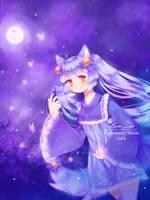 Violet Sky by Luminosity-Shade
