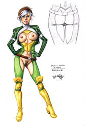 Erotic Earth Rogue by TCatt