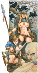 Sisters of Rapture in the Middle Ages by TCatt