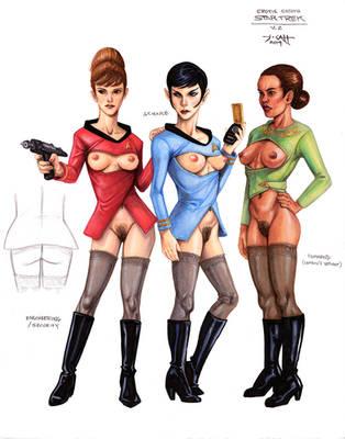 Erotic Earth Star Trek v2 by TCatt