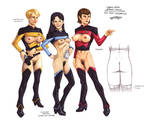 Erotic Earth Star Trek #3: The Next Generation by TCatt