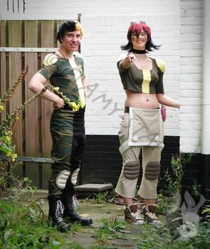 Oban Star Racers - Molly and Jordan