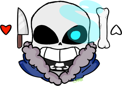 sans. by FlannelThemedDonuts