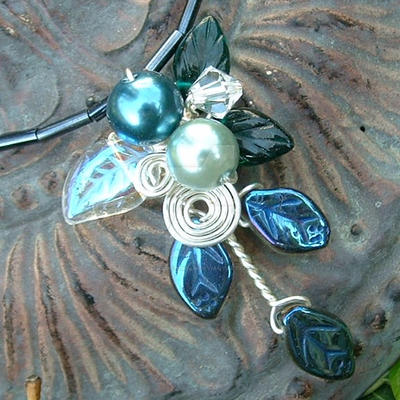 Rivendell Spring Necklace by Thyme2dream