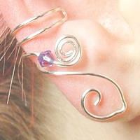 Celtic Goddess Ear Cuff by Thyme2dream