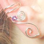 Celtic Goddess Ear Cuff