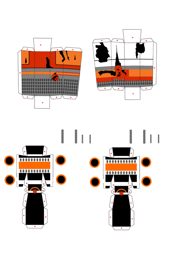 a concept of scrap baby legs (to RedFox1987) by aknupheap