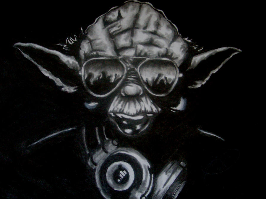 DJ Yoda by katiesparrow1