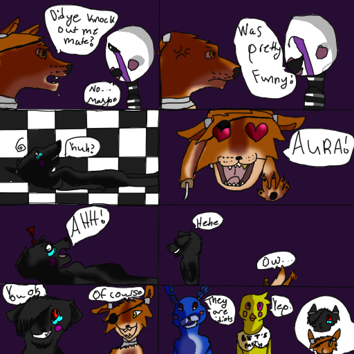 Aura five nights at freddys the comic pg 3 by wolves92949 on