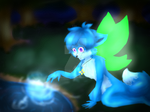 Zoe and the mysterious Light.:Fairy Foxes:.
