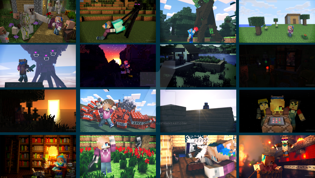 more minecraft wallpapers i made on nova skin by feline girl 2000 on