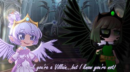 Your not the villain .: Gachaclub edit:.