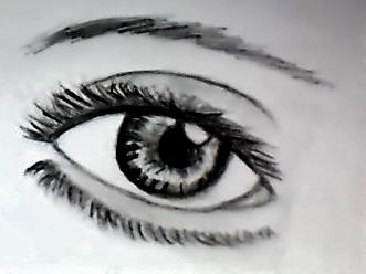 Realistic Eye by fragilereaper