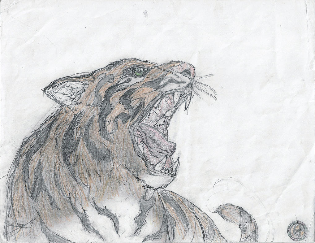 Rikki the Tiger by shadowshot9
