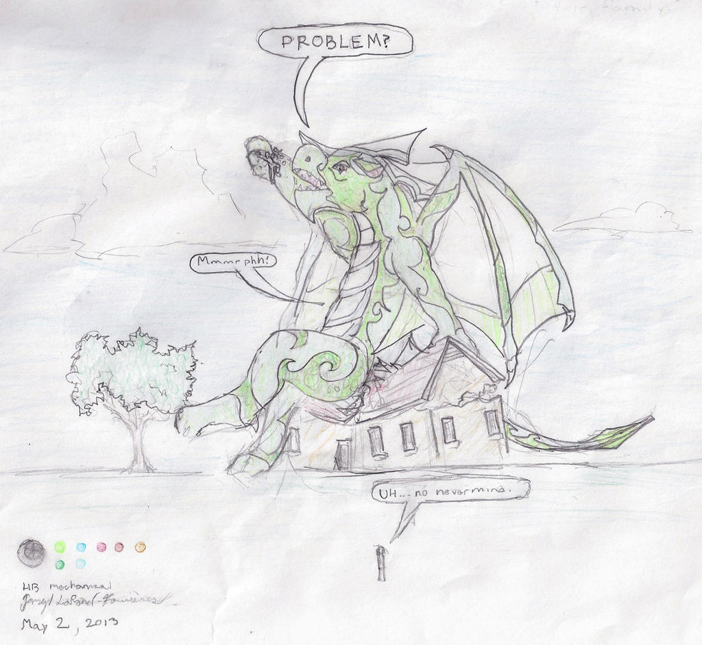 Veran's wrath by shadowshot9