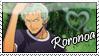 Roronoa Stamp by churrosfairy
