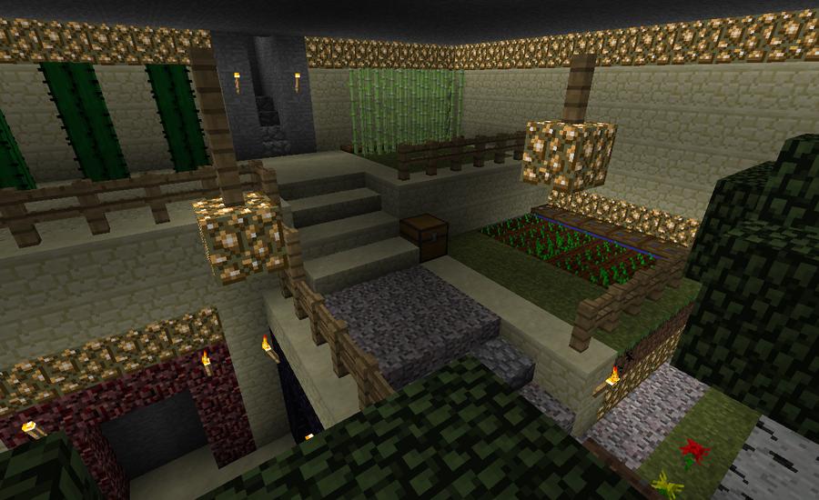 Minecraft The Green Room By Rueyeet On DeviantArt