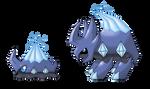 #070 - Snailoid, #071 - Carapice