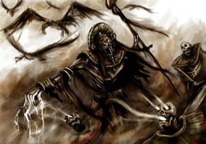 The Lich Priest, Harkesh the eternal