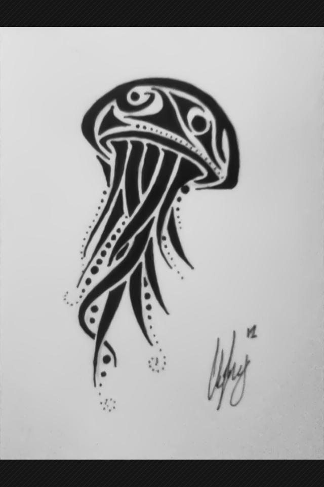 Tribal Jellyfish Tribal jellyfish 2 by