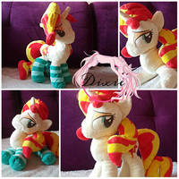 Sunset Shimmer Plushie by DixieRarity