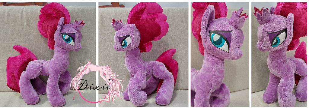[FOR SALE] Tempest Shadow Plush by DixieRarity