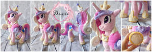 Princess Cadance Plushie by DixieRarity